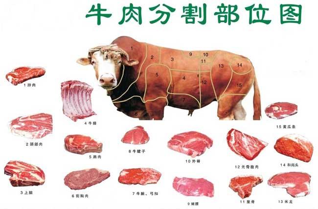牛肉的分类