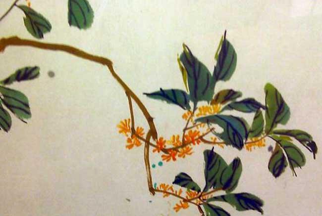 关于桂花的诗句