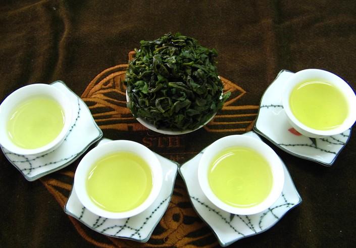 青茶(乌龙茶)