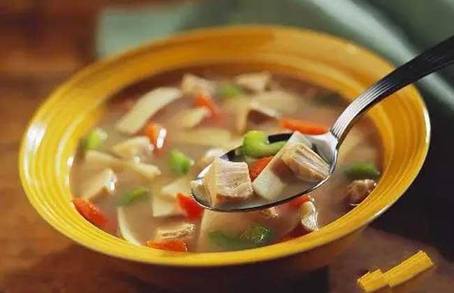 竹笋香菇汤