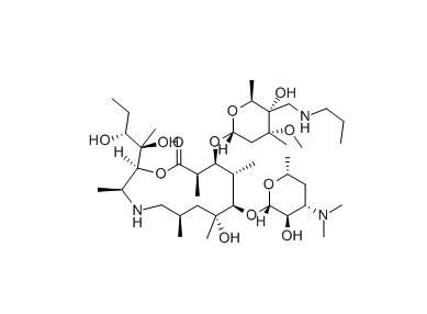 兽用新型大环内酯类抗生素之托拉菌素