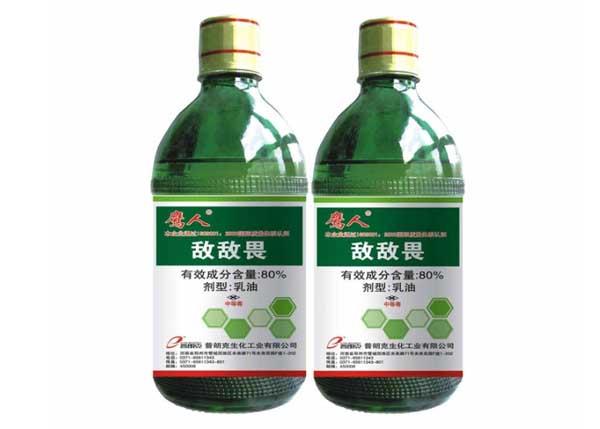 一些常见对农药制剂敏感的作物