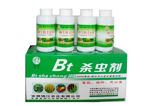 BT杀虫剂使用注意四方面