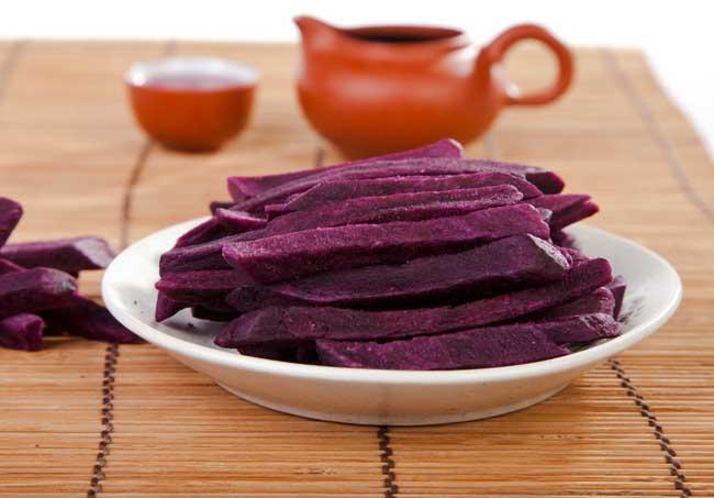 紫薯的功效与作用