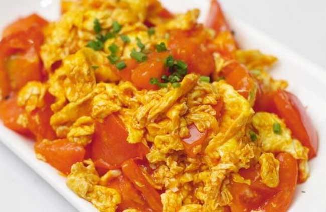 西红柿炒鸡蛋的营养价值
