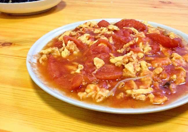 西红柿炒鸡蛋的做法及营养价值