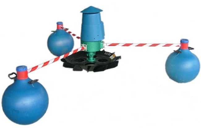 叶轮式增氧机的工作原理及优缺点