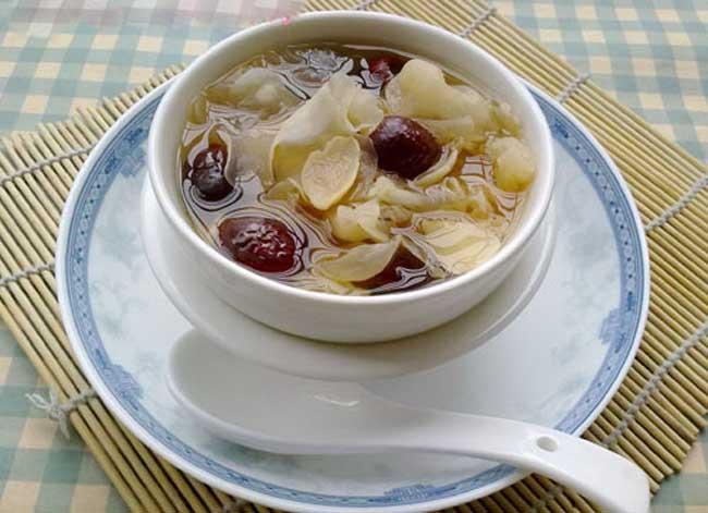 冬季养生甜品汤