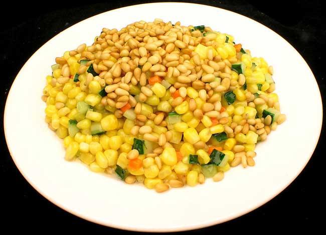松子玉米的家常做法
