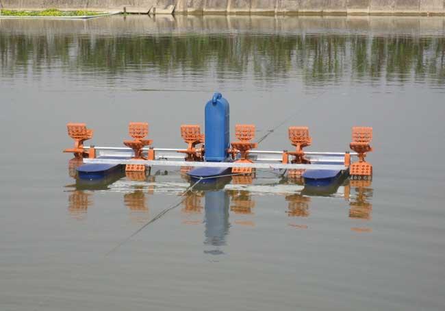 高温季节如何使用鱼塘增氧机