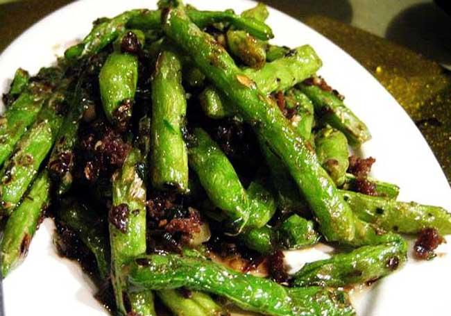 干煸四季豆七种常见做法