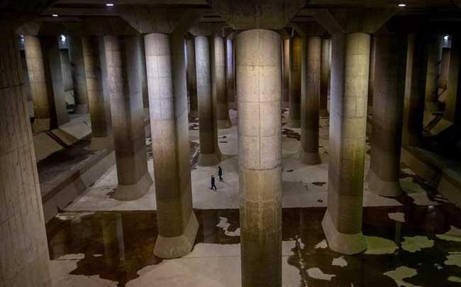 世界最大排水系统