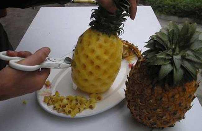 菠萝怎么切_菠萝怎么削皮