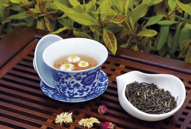 菊花茶的功效与作用