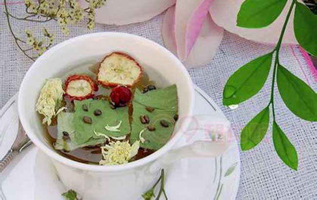 山楂荷叶茶的功效