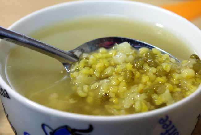 绿豆汤的功效与作用