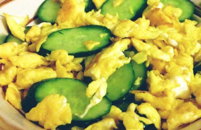 黄瓜鸡蛋减肥法