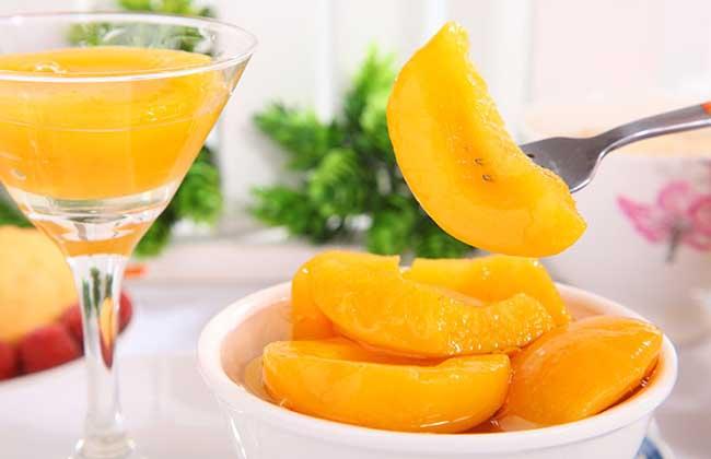 黄桃罐头的自制方法