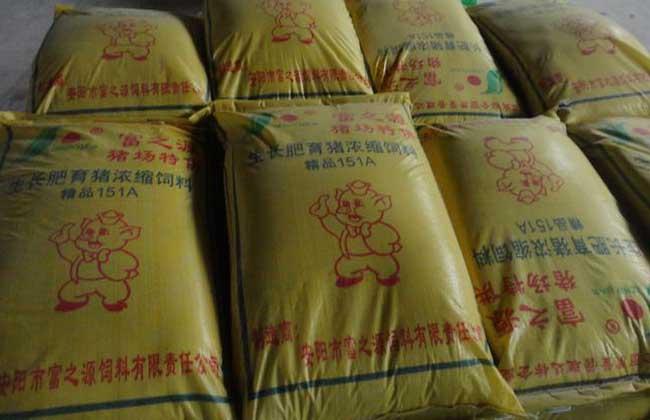 育肥猪饲料配方