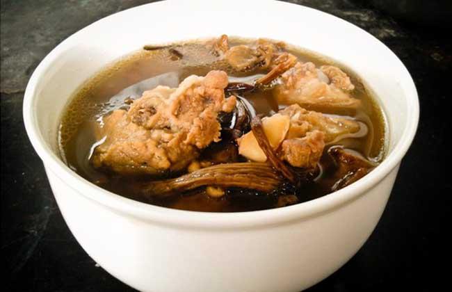 茶树菇排骨汤的做法大全