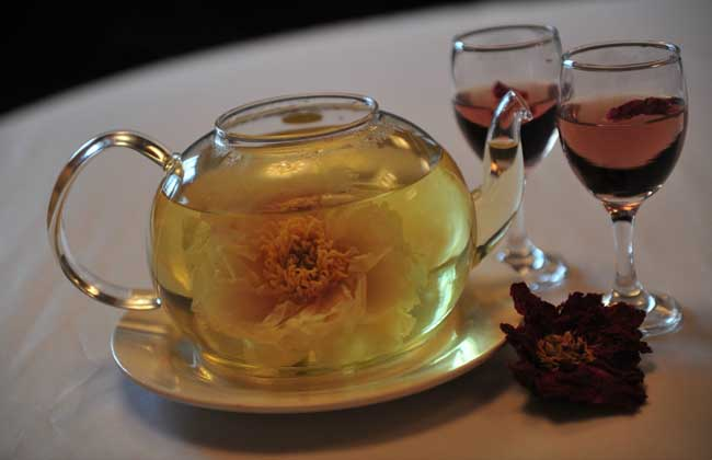 牡丹花茶的功效与作用