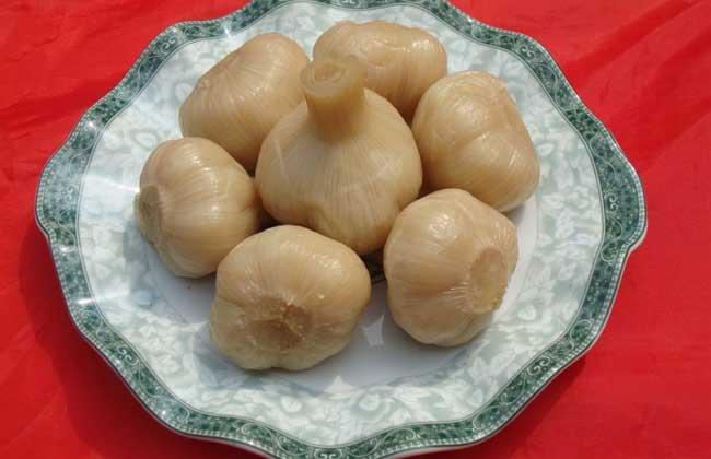 大蒜的腌制方法
