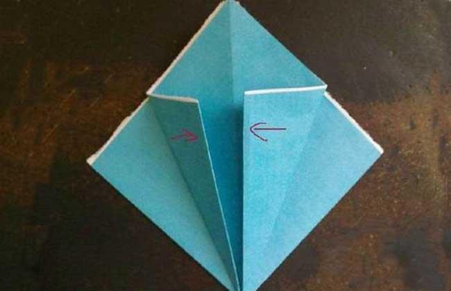 康乃馨的折法图解