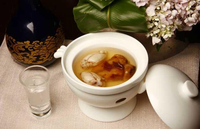 清煮石蛙汤