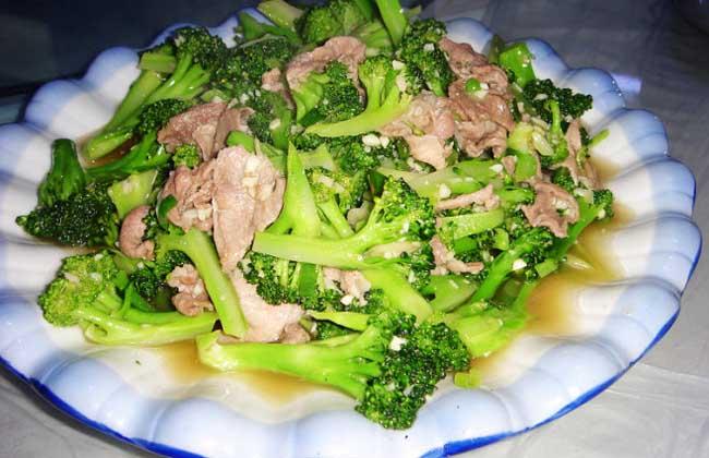 西兰花炒肉
