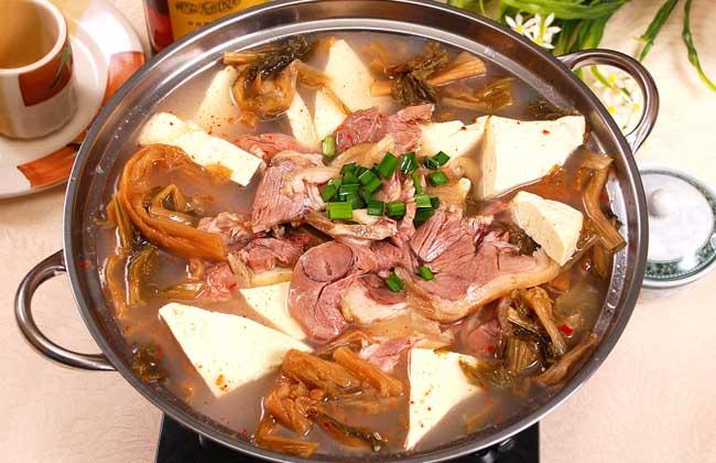 狗肉炖豆腐