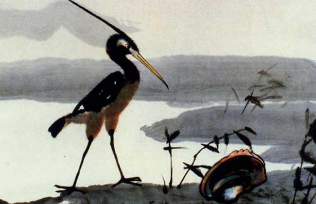鹬蚌相争渔翁得利