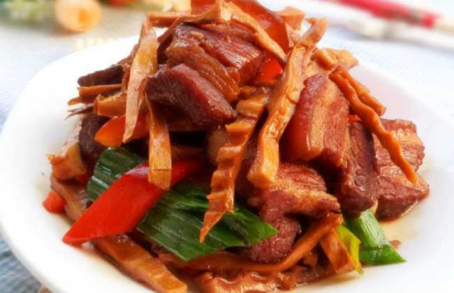 笋干红烧肉的做法