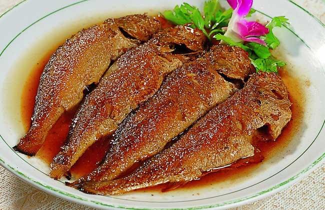 红烧小黄花鱼
