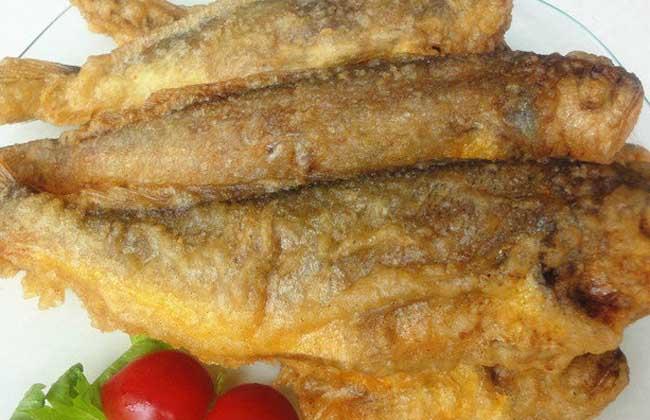 炸黄花鱼的做法