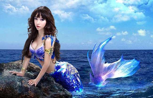 """这世界真的有""""美人鱼""""吗? 美人鱼只存在童话里_神秘美人鱼惊现海底"""