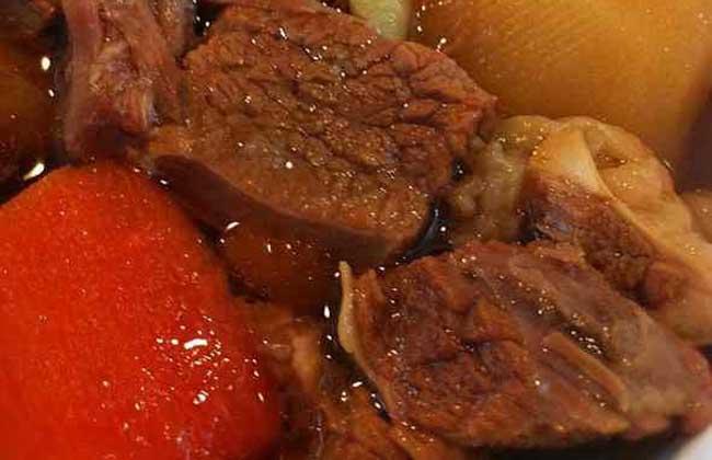 炖牛肉的家常做法