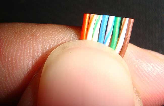 网线水晶头接法图解