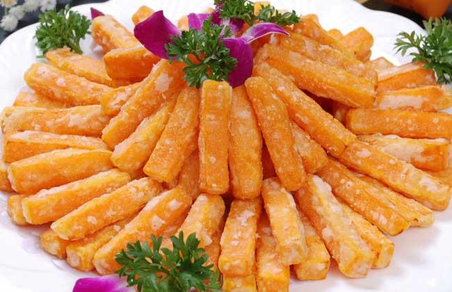 蛋黄焗南瓜的做法