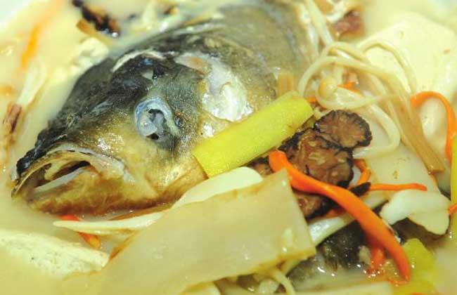天麻核桃鱼的做法