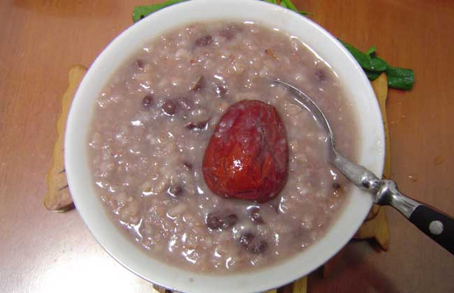仙枣赤豆粥