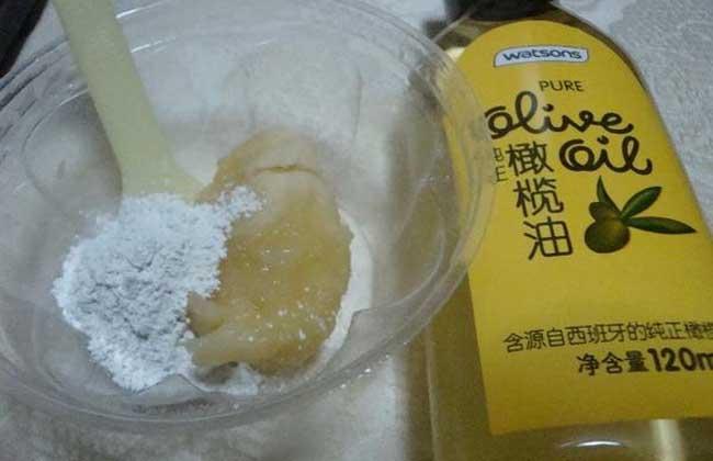 香蕉润肤面膜