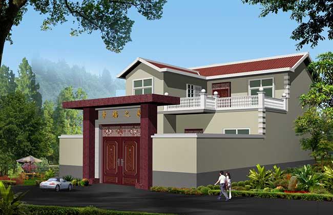 农村别墅型房屋设计图大全
