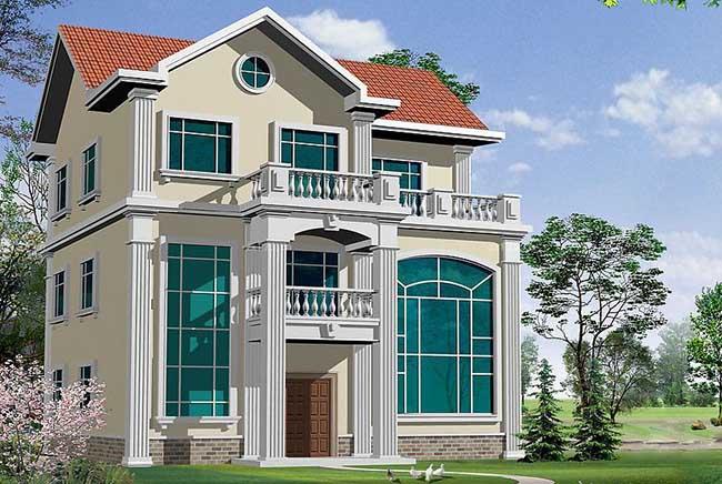 农村别墅型房屋设计图大全(3)