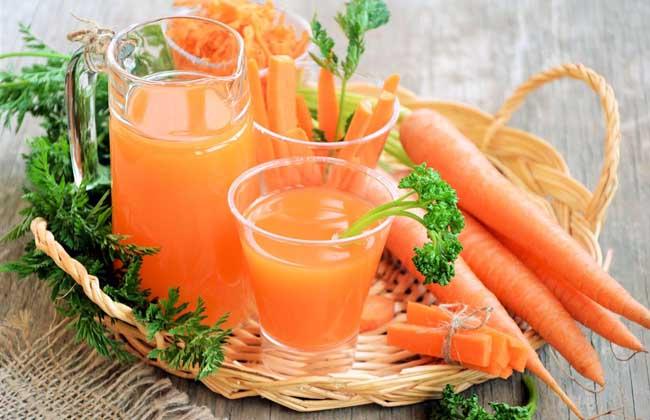 胡萝卜汁可以祛斑吗