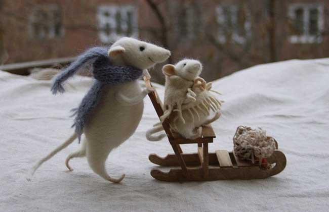 羊毛毡的制作方法