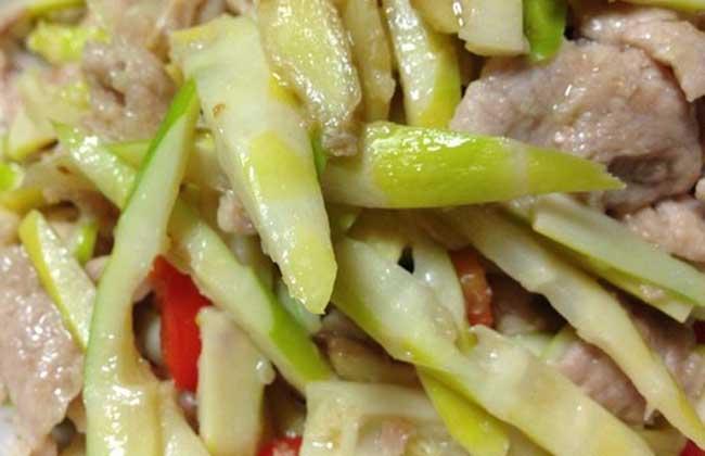 竹笋炒肉的家常做法