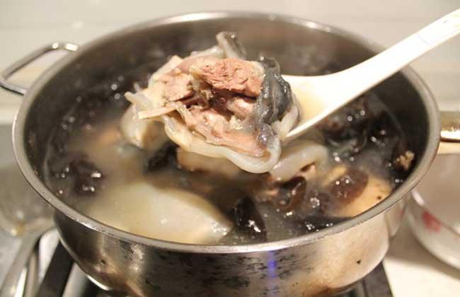 清炖甲鱼汤的家常做法