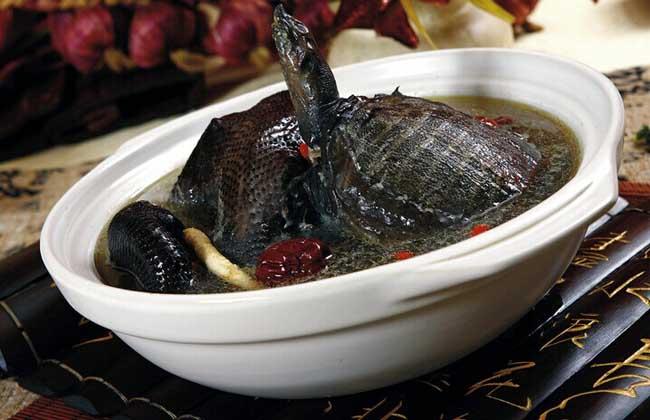 甲鱼补肾汤