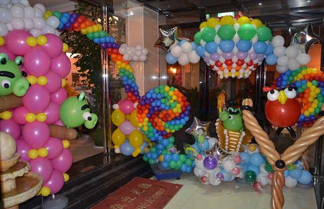 彩球气模庆典产品出租店