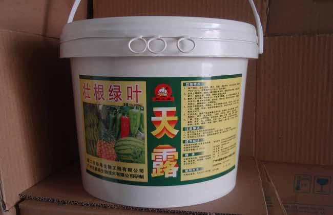 冲施肥配方及使用方法